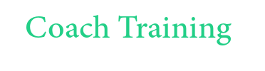 Coaching Training Work Font