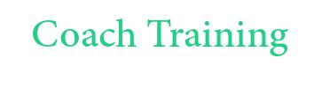 Coaching Training Work Font