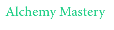 Alchemy Mastery Word Font